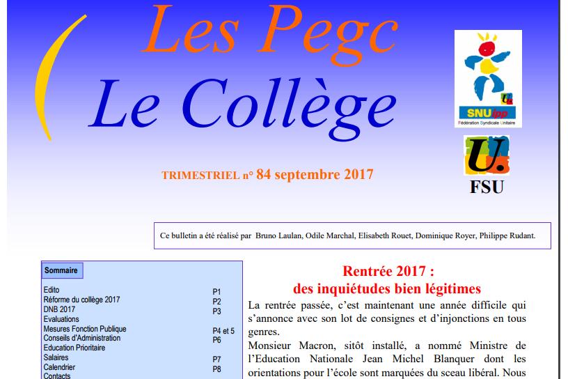 Les-PEGC-le-college