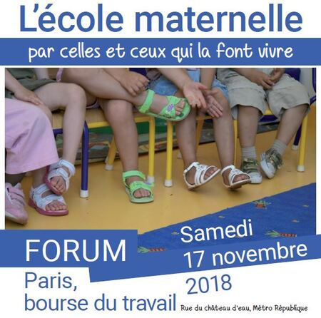 affiche Forum maternemme