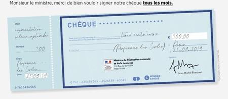 Chèque Salaire